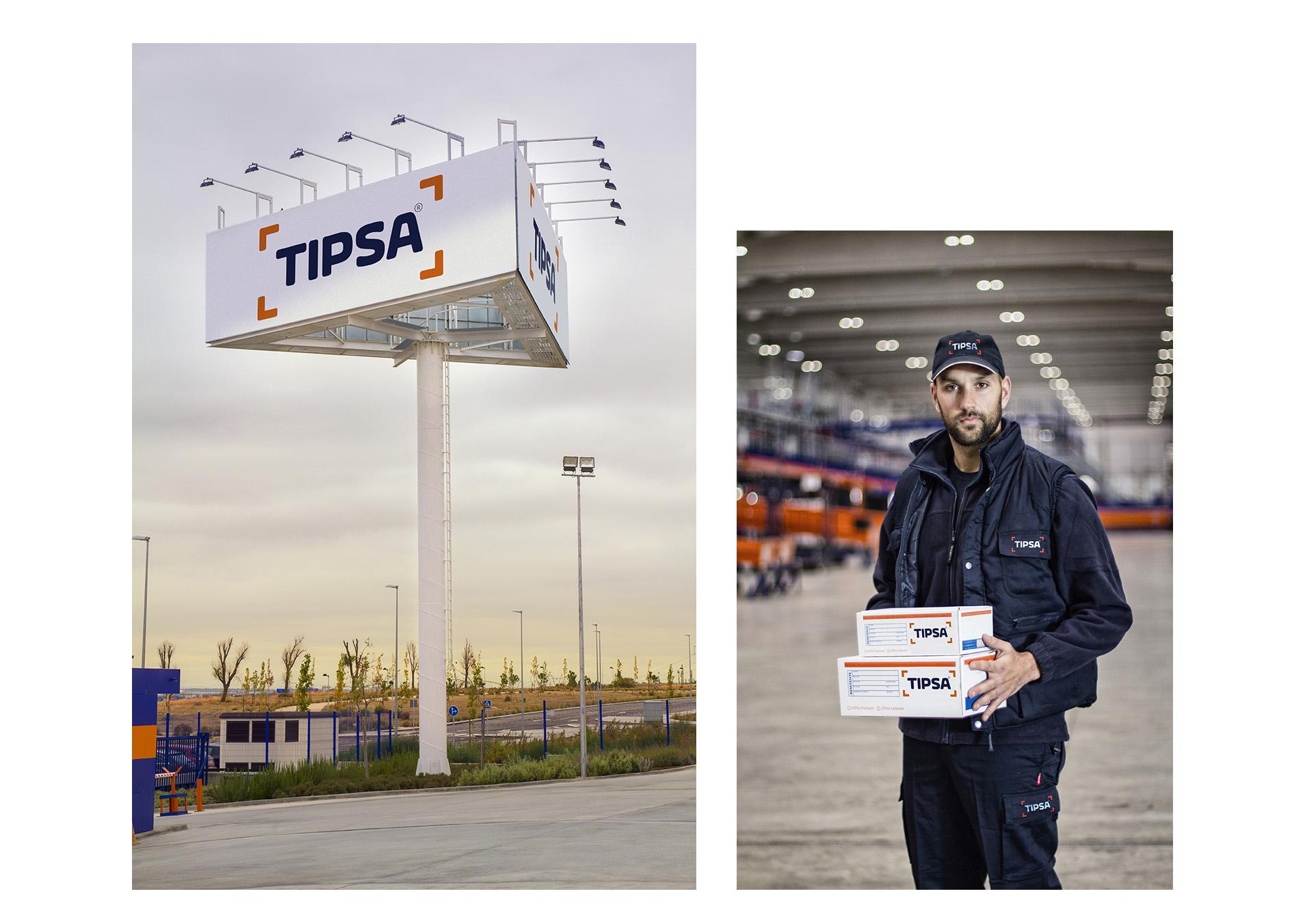 Transporte mensajeria y paqueteria urgente TIPSA