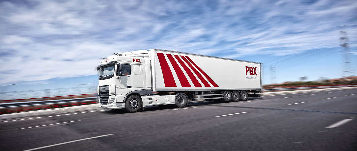 Palibex - PBX -Transporte urgente mercancia paletizada - Beusual