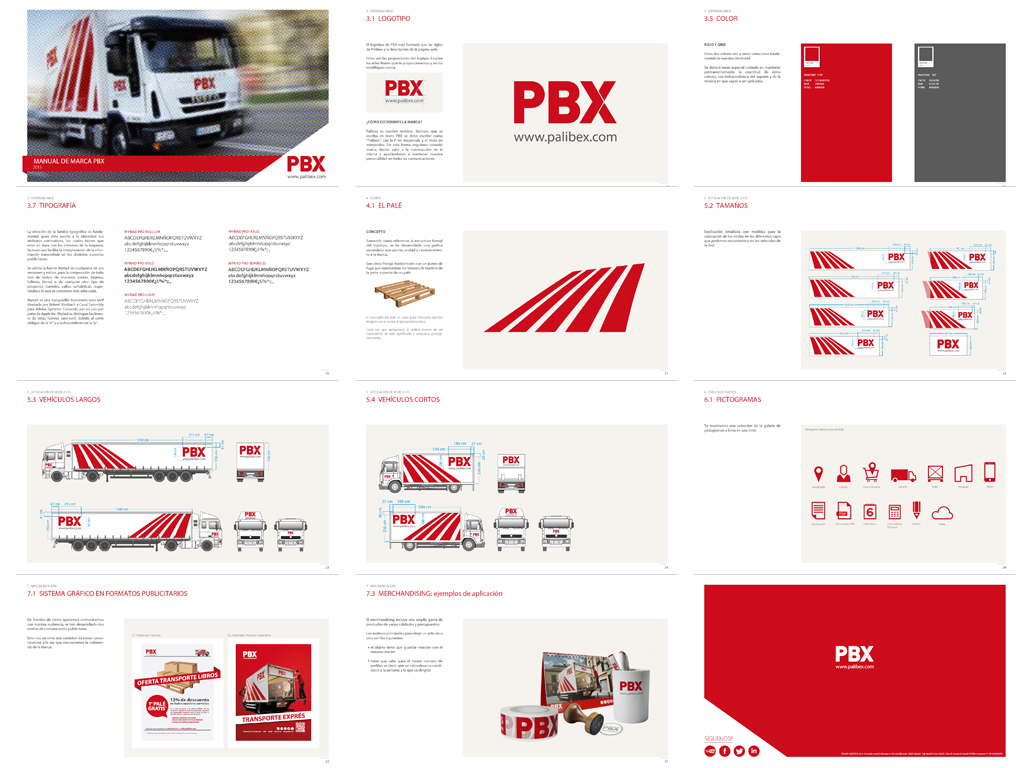 Palibex -PBX -Transporte urgente mercancia paletizada - Beusual (3)