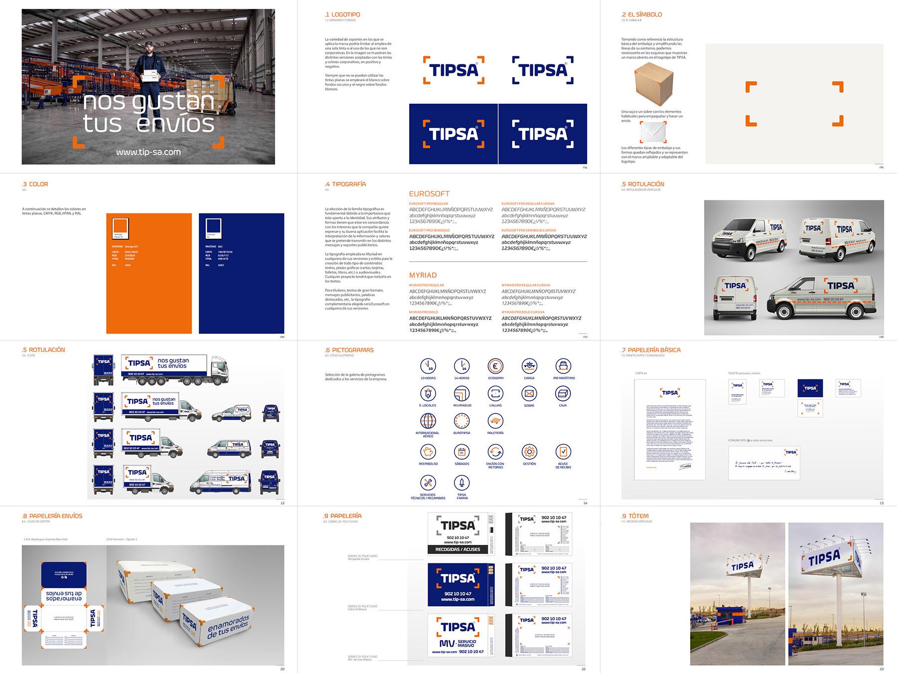 TIPSA - Transporte mensajeria y paqueteria urgente - Beusual