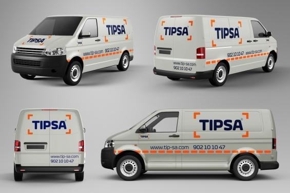 TIPSA - Transporte mensajeria y paqueteria urgente TIPSA