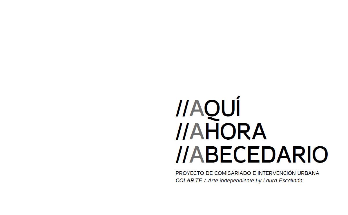 AQUI AHORA ABECEDARIO - LAURA ESCALLADA