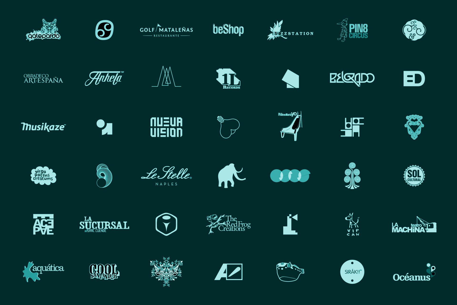 diseño de logotipos - Beusual diseño grafico - 001