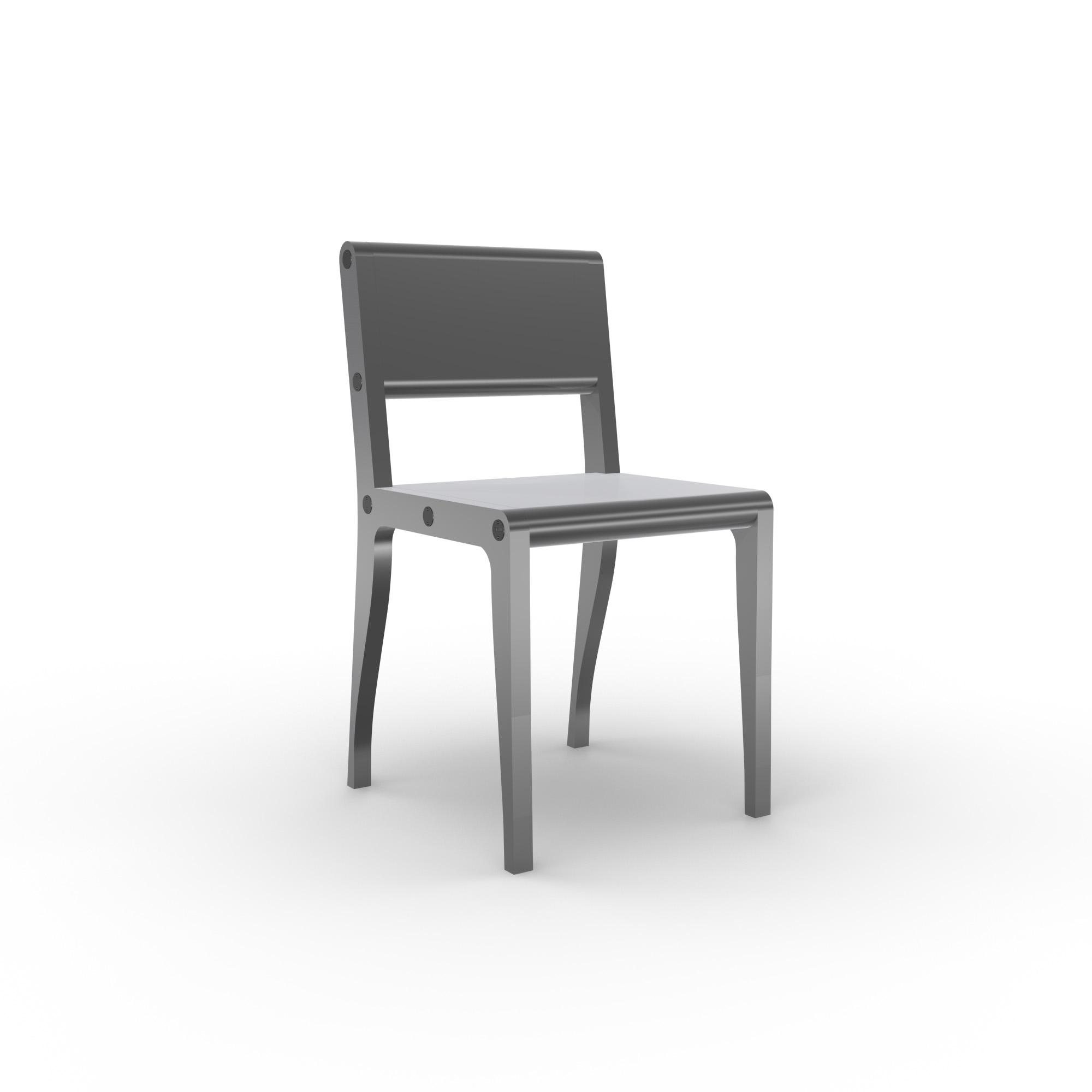 diseño industrial santander - Beusual - Sirak - silla alumino