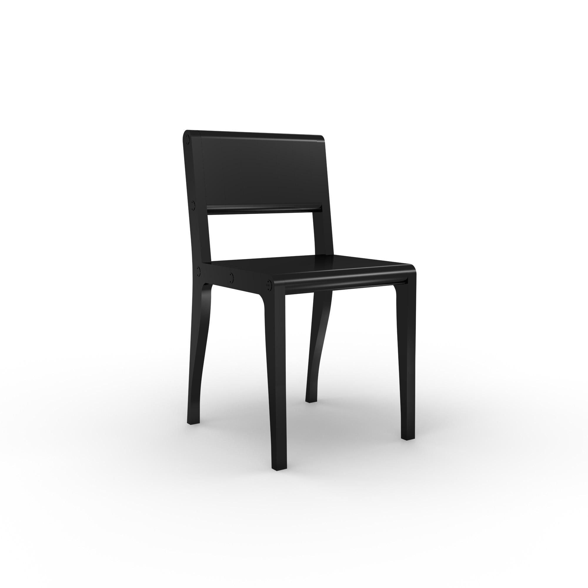 diseño industrial santander - Beusual - Sirak - silla black