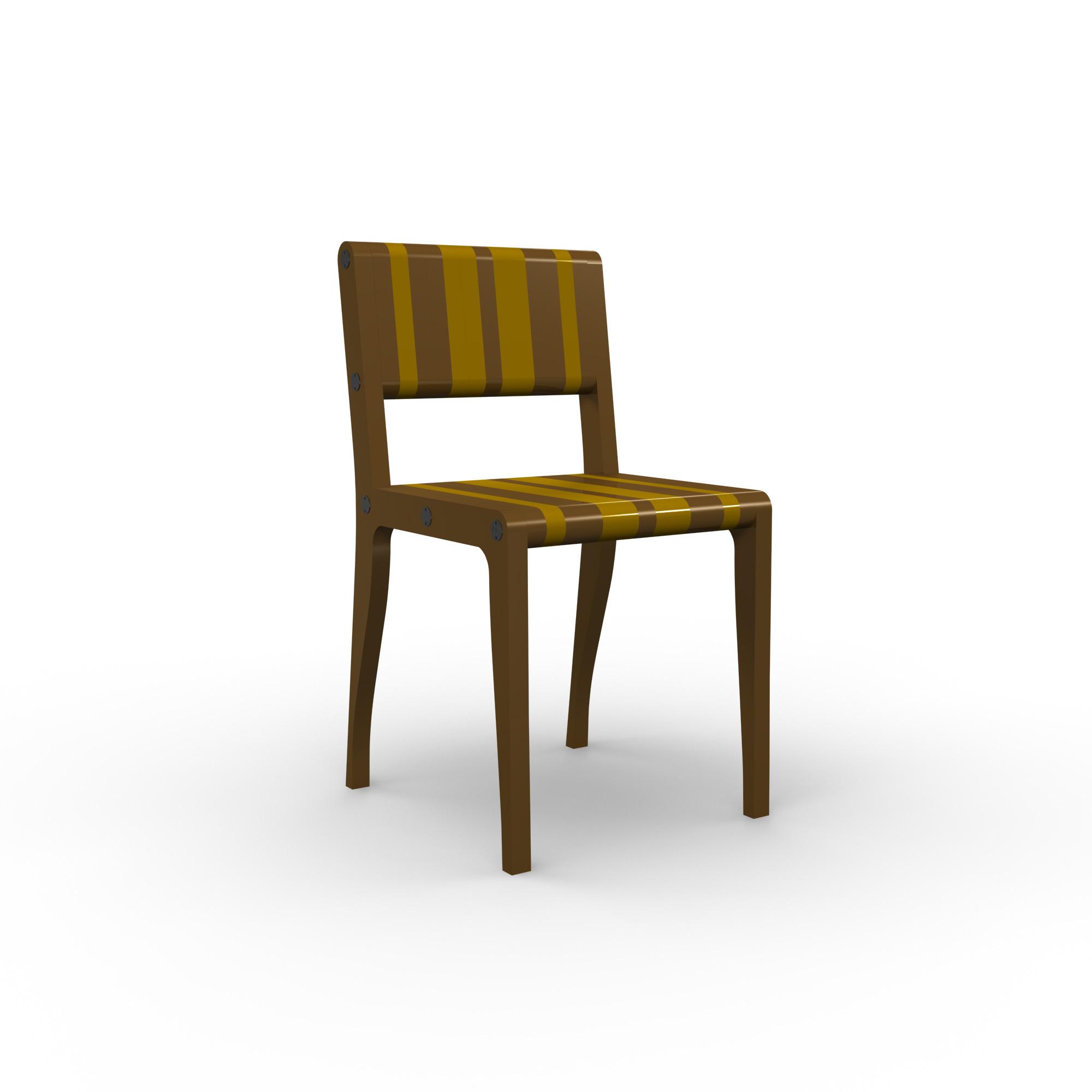 diseño industrial santander - Beusual - Sirak - silla directiva brown