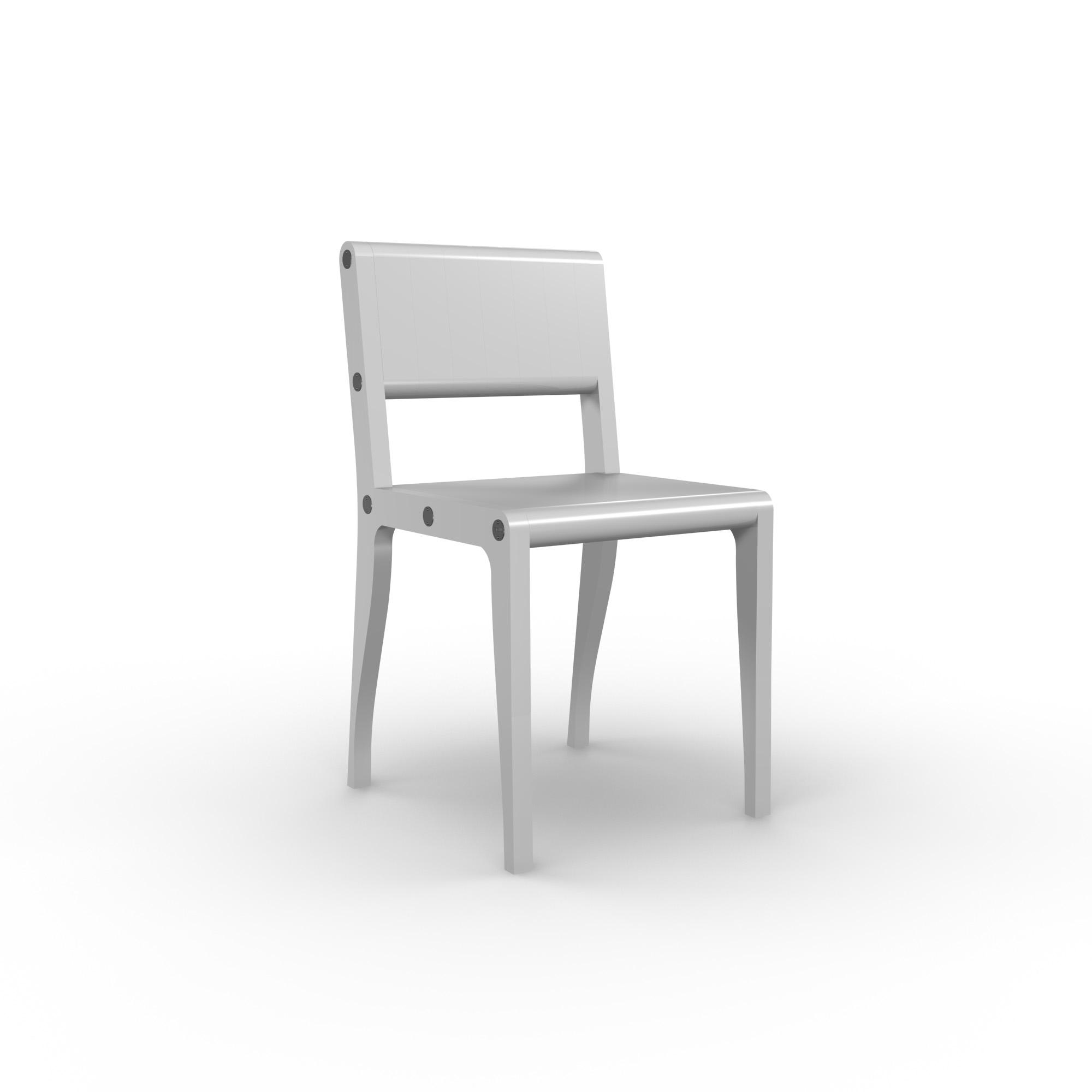 diseño industrial santander - Beusual - Sirak - silla white