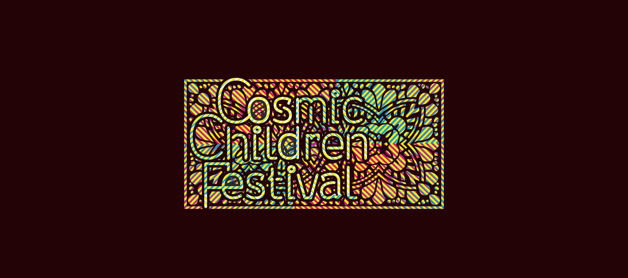 diseño logotipo - Beusual - diseño grafico santander - cosmic children festival