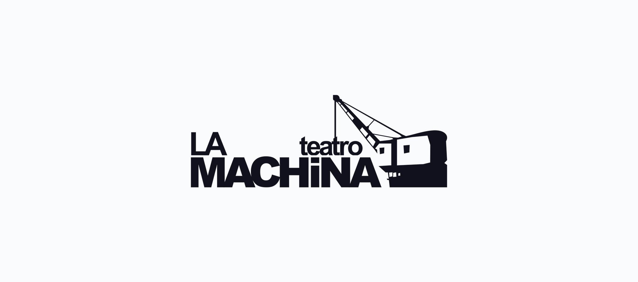 diseño logotipo - Beusual - diseño grafico santander - la machina teatro