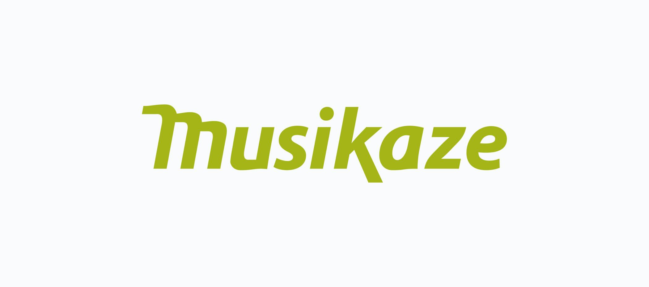 diseño logotipo - Beusual - diseño grafico santander - musikaze