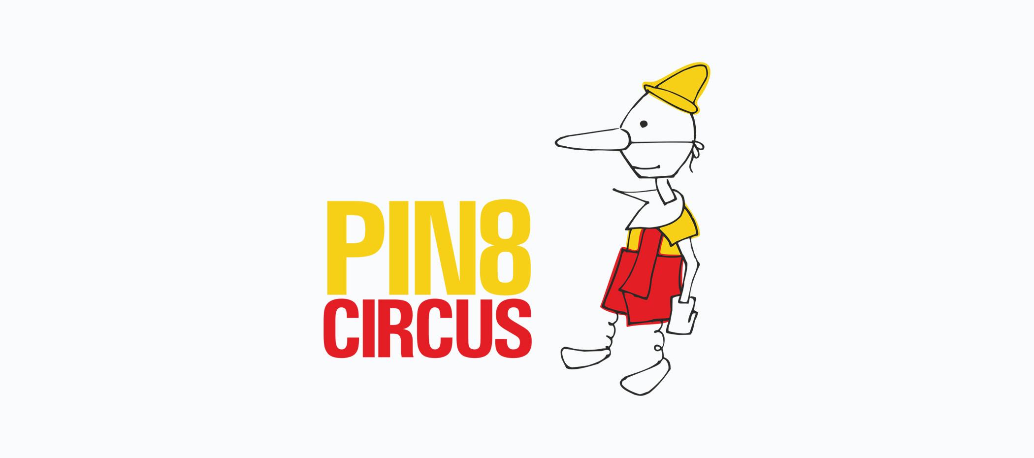 diseño logotipo - Beusual - diseño grafico santander - pin8 circus - pinocho