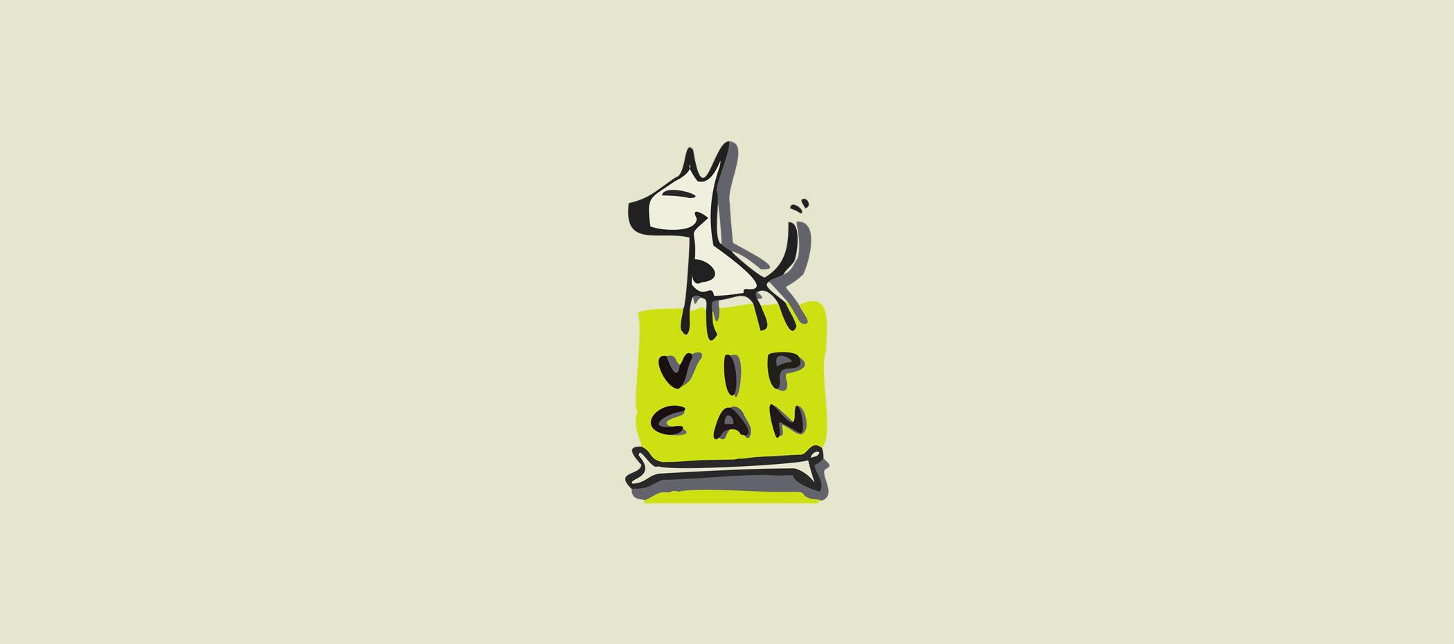 diseño logotipo - Beusual - diseño grafico santander - vip can