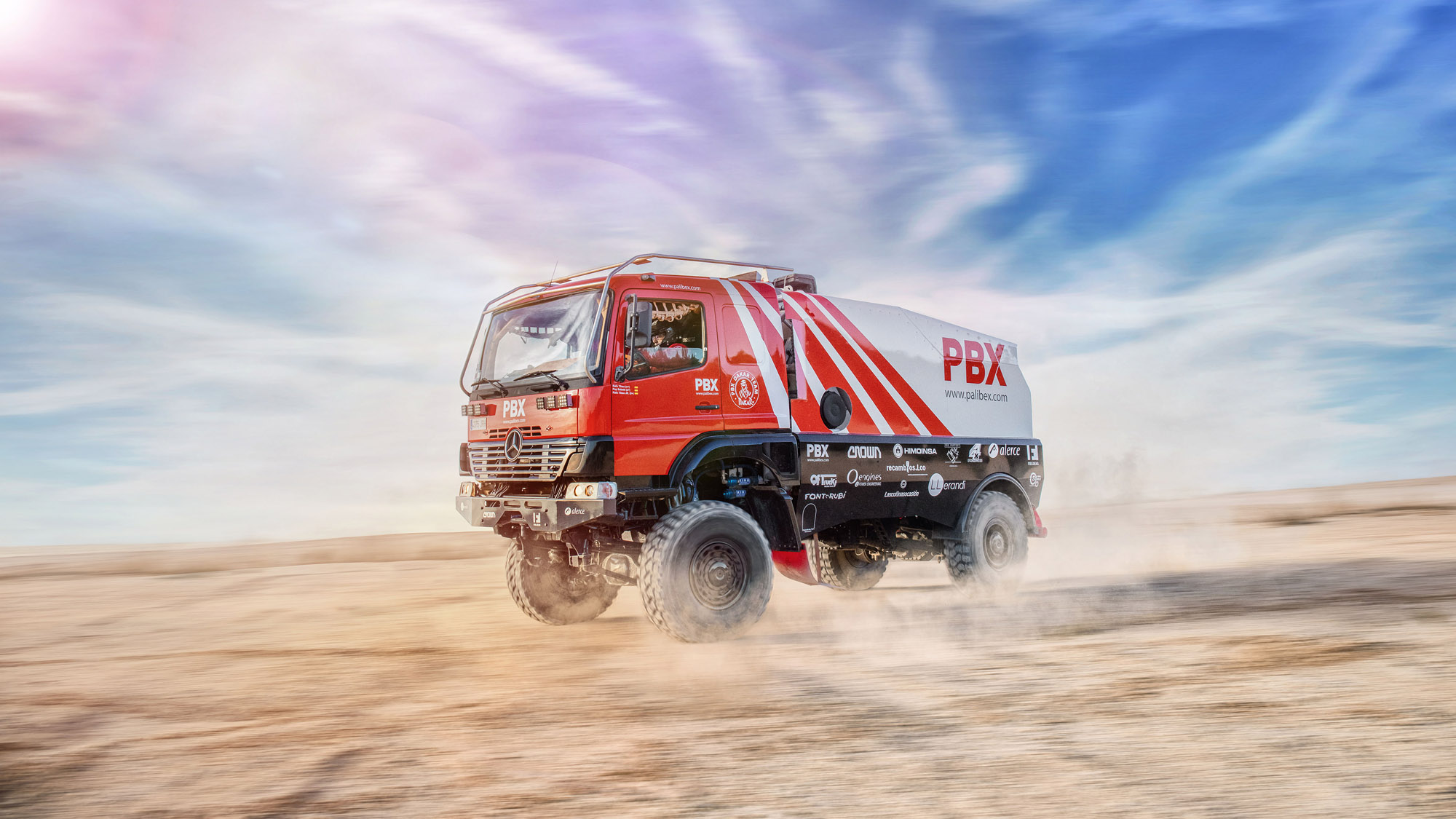 PALIBEX-ROTULACION-VEHICULOS-BEUSUAL - PBX DAKAR TEAM - TRUCKS DAKAR