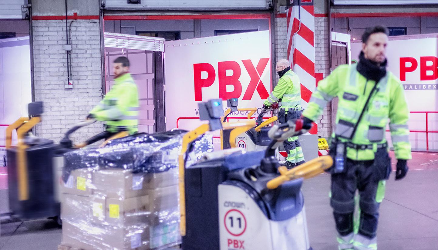 Palibex - PBX -Transporte urgente mercancia paletizada - Beusual - instalaciones 3