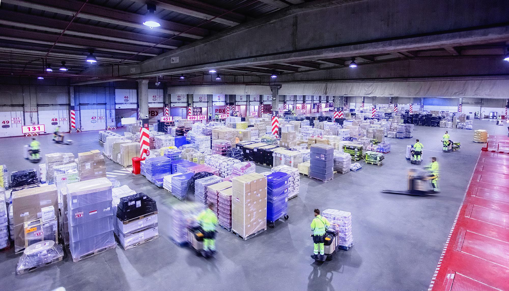 Palibex - PBX -Transporte urgente mercancia paletizada - Beusual - instalaciones