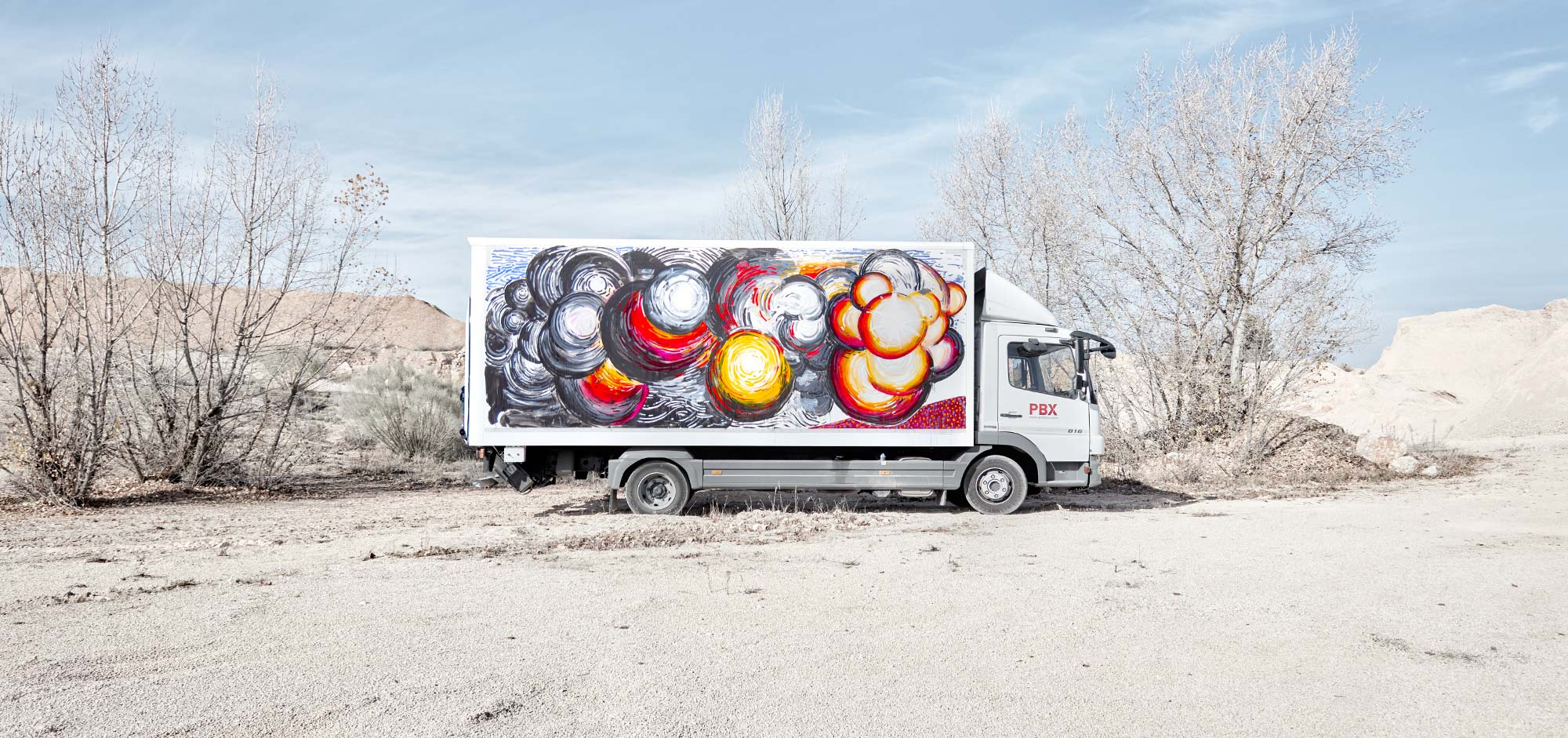 ABRAHAM LACALLE - TRUCK ART PROJECT - 2