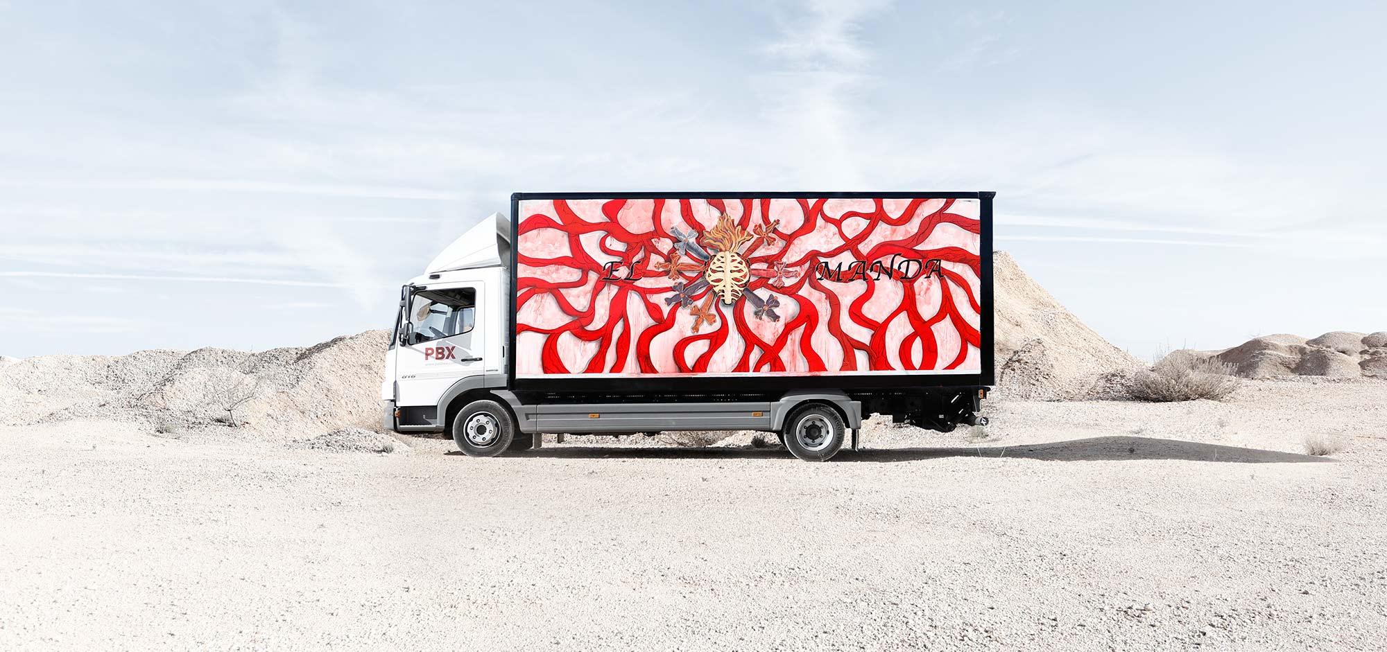 MARINA VARGAS - TRUCK ART PROJECT - 2