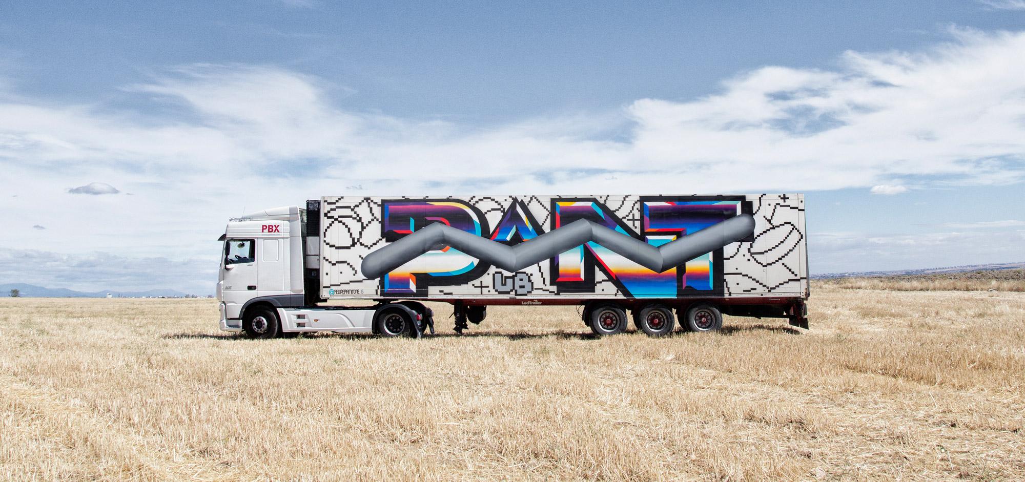 PANTONE - TRUCK ART PROJECT - 2