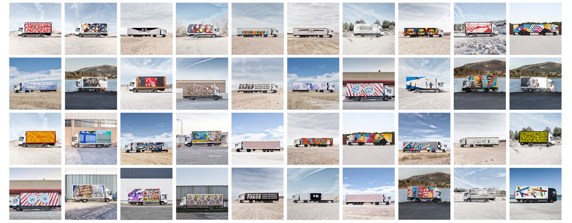 TRUCK ART PROJECT - BEUSUAL